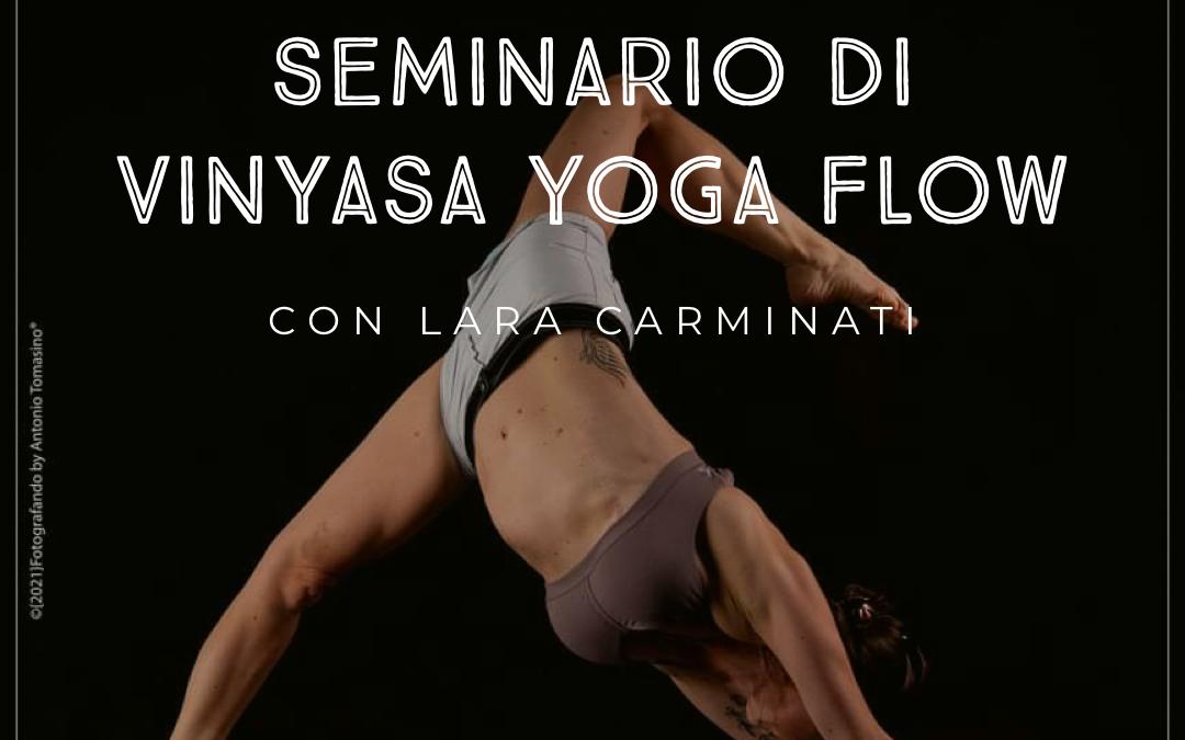 Seminario di Vinyasa Yoga Flow
